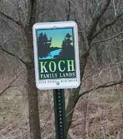 Koch family Lands on Rush River
